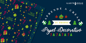 papel decorativo navideño