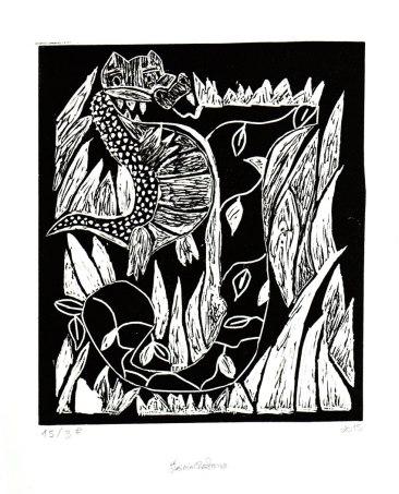 Serigrafia e Gravura | Flávia Caetano