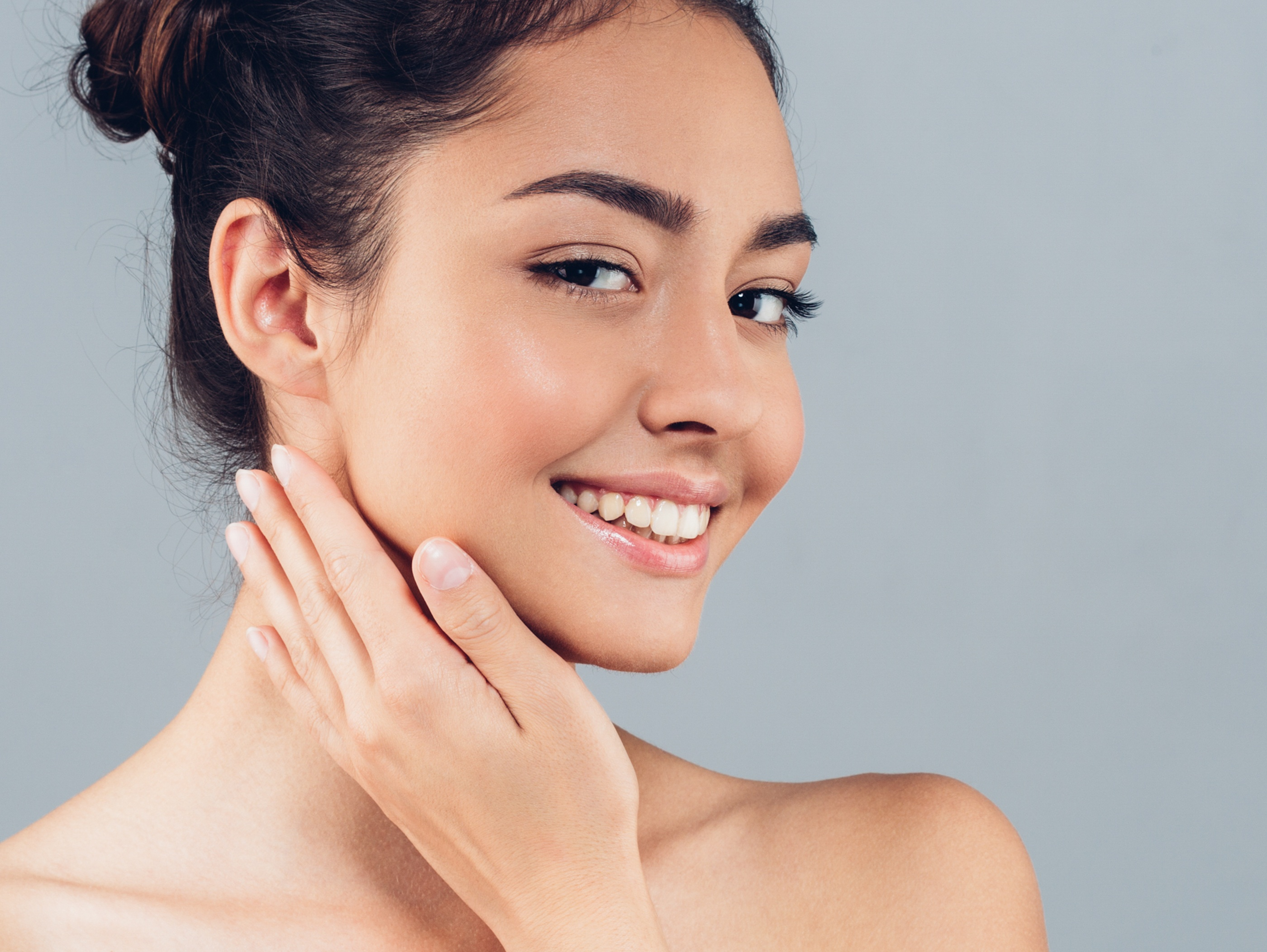 Photo of woman with beautiful skin and complexion after receiving Laser Skin Rejuvenation