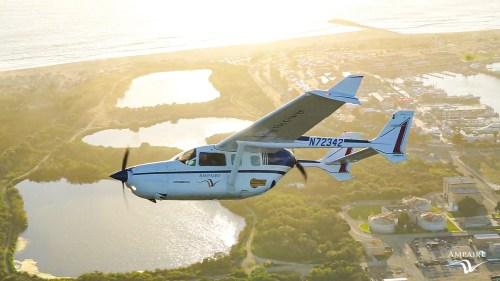 Společnost Ampaire představuje jeden z prvních hybridních letounů