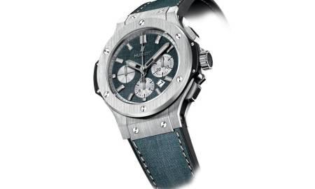Hublot představuje svou módní vizi – džínové hodinky c4c1a68662