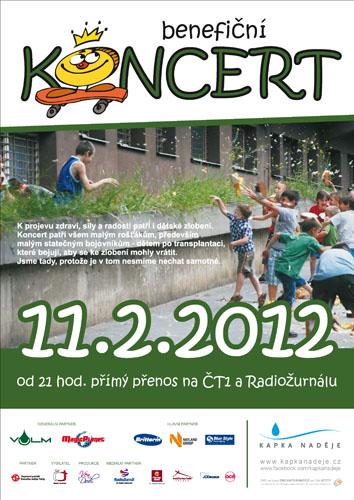 Benefiční koncert pro Kapku naděje
