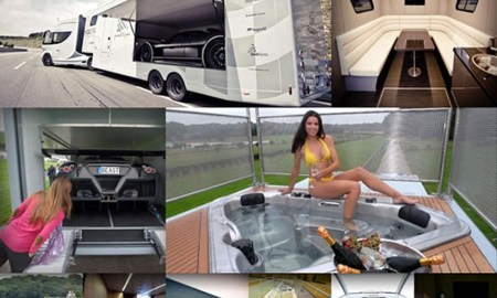 Luxusní motorhome Futuria.