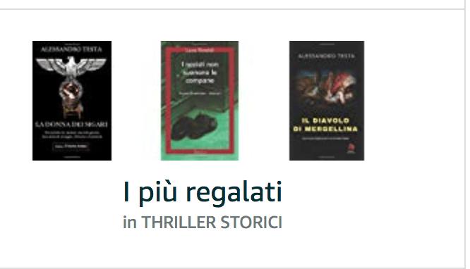 You are currently viewing Soddisfazioni: 3 romanzi nei primi cento thriller storici