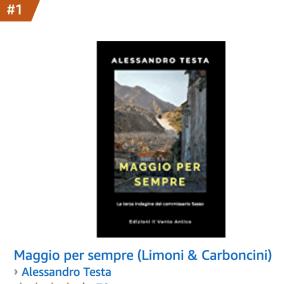 Maggio per sempre, un altro bestseller di Alessandro Testa