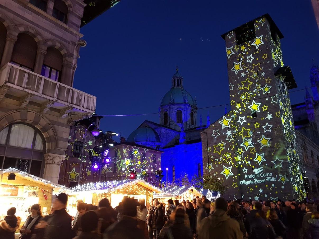 I mercatini di Natale di Como e la città dei balocchi