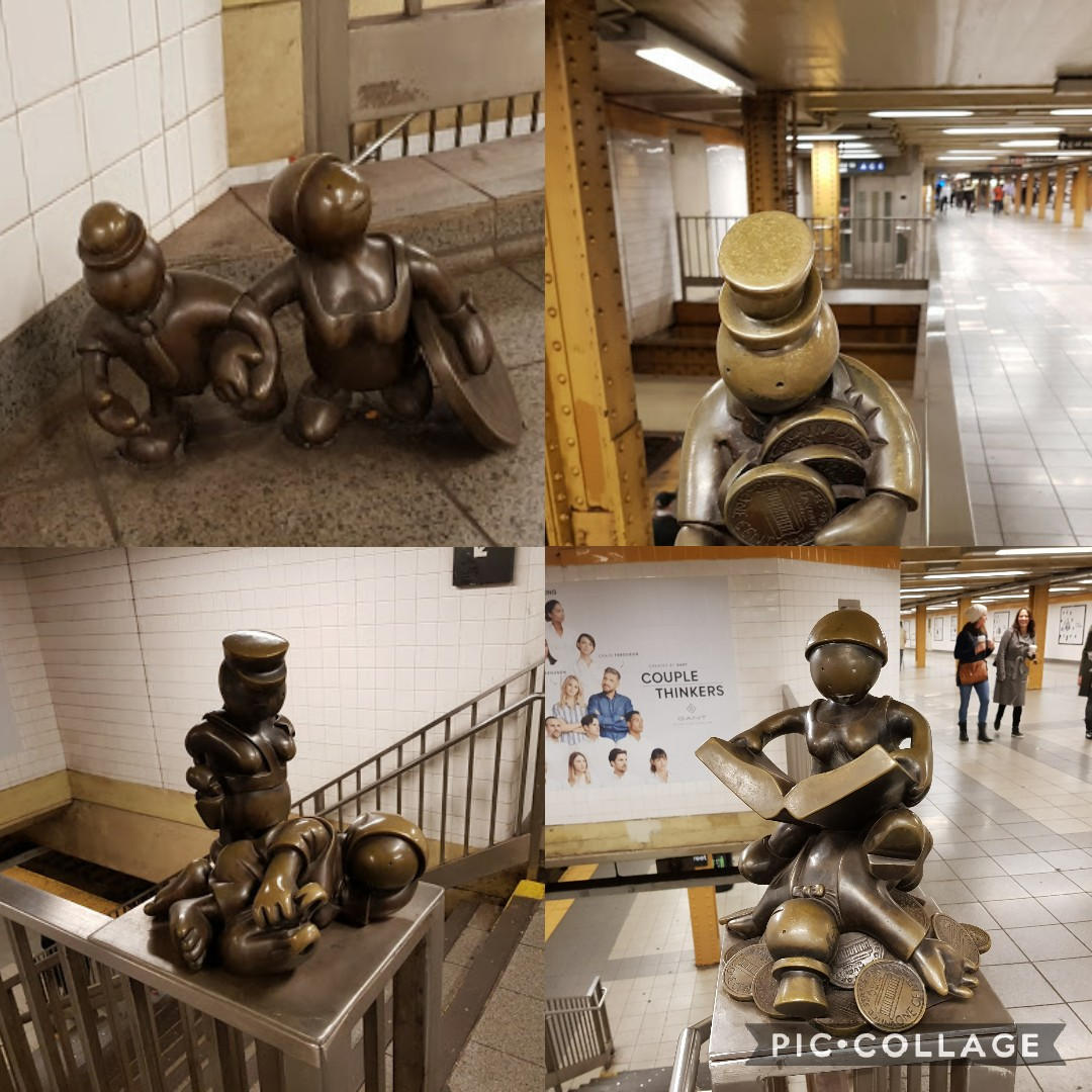 Life Underground Tom Otterness