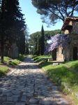 Remains of Appian Way near Quarto Miglio