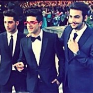 In Brioni; @ilvolo; @newwave Il Volo - Latvia - ready to perform - 2014