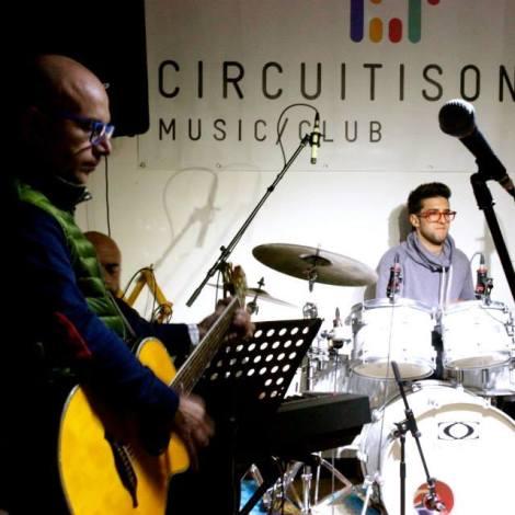 Circuiti Sonori Facebook Piero sits in on the drums 2014