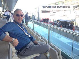Ercole Ginoble Facebook Formula 1 Grand Prix Abu Dhabi 2014