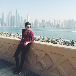 @gianginoble11 Instagram Abu Dhabi Nov. 2014