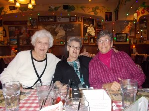 Bonnie, Allene and Suzy