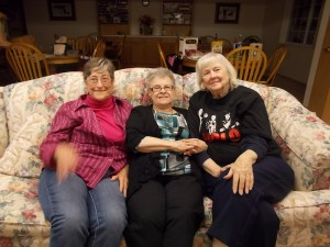 Suzy, Allene and Mary