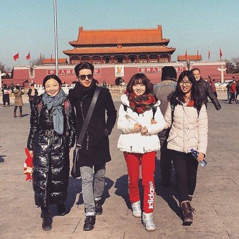 Gianluca and friends Beijing China