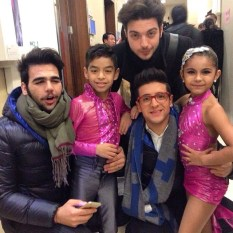 Il Volo and fellow performers
