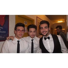 Sanremo_2015 Il Volo ready for the final night Sanremo