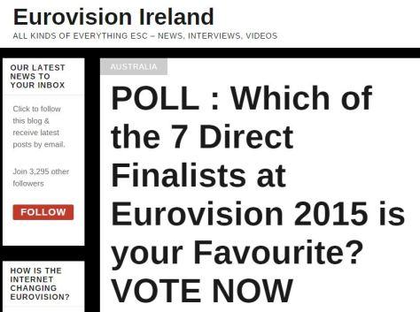 vote - Euro ireland