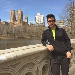 @barone_piero Instagram - Piero - Central Park Lake - NYC 4/15