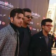 @ilvolomusic Eurovision opening ceremony - Vienna - on the red carpet - 2015