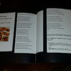 finished book 5 Keepsake Book messages and pictures
