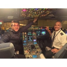 @barone_piero Piero's Instagram good flight from Las Vegas to Rome 11/20/16 2015