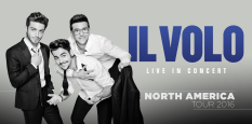 Il Volo Music Website North America Tour logo 2016
