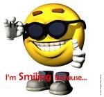 I'm Smiling Because