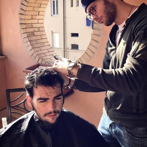 Ignazio's Instagram; with @marcoguercio18