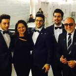 @emiloestefanjr Il Volo Gloria and Emilio Estefan Miami Concert 4/1/17