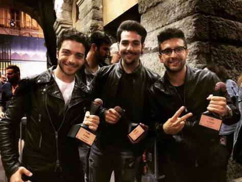 trio gold award