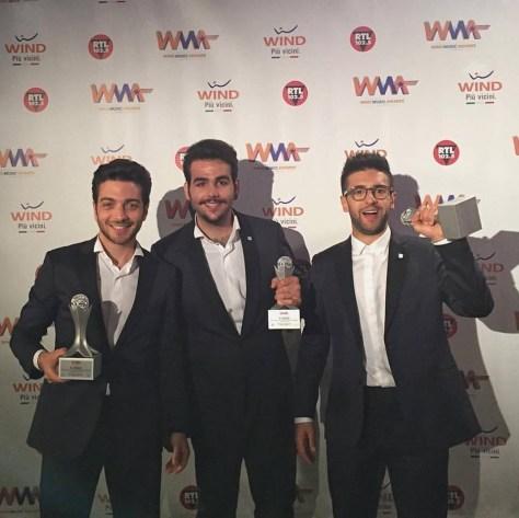 trio with awards