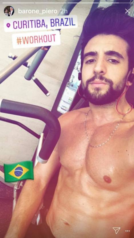 piero workout Notte Magica Tour - Piero - workout - Curitiba 9/19/17