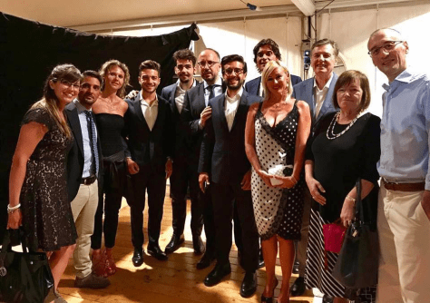 IL VOLO with the municipal council of ASTI