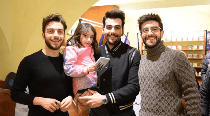 THE SWEETNESS OF PIERO, GIANLUCA AND IGNAZIO by Daniela