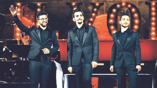 THEY SAY, OF THE FIRST CONCERT OF IL VOLO by Daniela