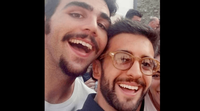 PIERO AND A JOKE ON IGNAZIO by Daniela
