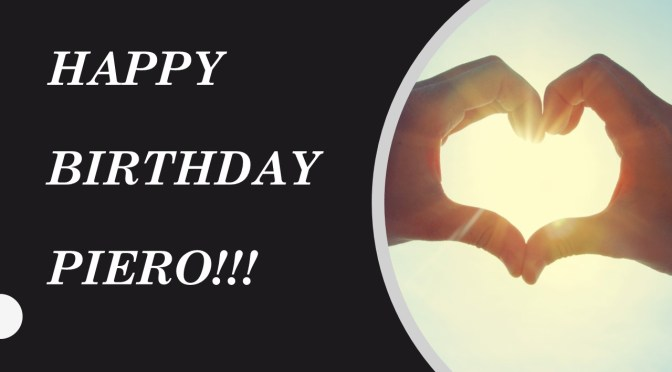UPDATED: Happy 27th birthday, Piero!!