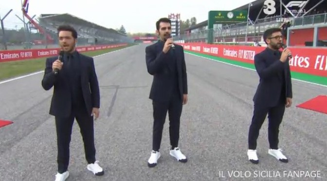 Il Volo Off to the Races Again By Giovanna