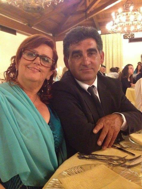 Caterina Licari and husband Vito Boschetto