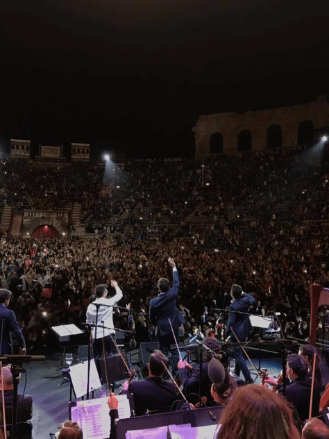 IL VOLO on stage at Verona Arena