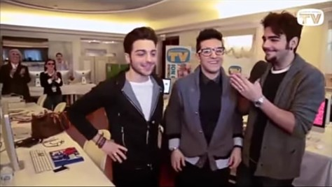 Left to right: Gianluca, Piero and Ignazio laughing Day 3