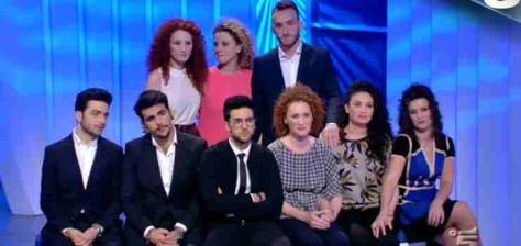 IL VOLO and the family from C'è Posta Per Te