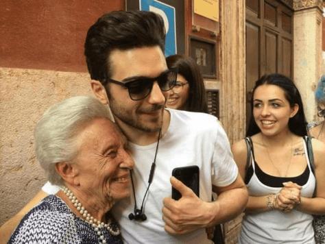 Gianluca with Nonna Maura