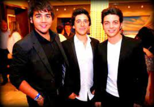 Left to right: A young Ignazio, Piero and Gianluca