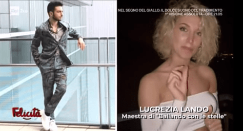Gianluca on the left and Lucrezia Lando on the right