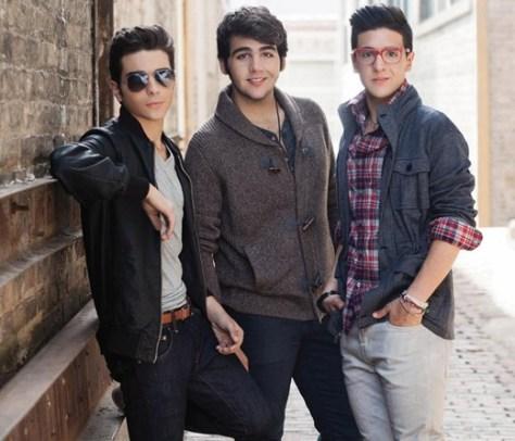 Left to right: Gianluca, Ignazio and Piero photo shoot image