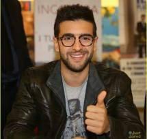Piero with thumb up