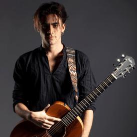 Nico with guitar