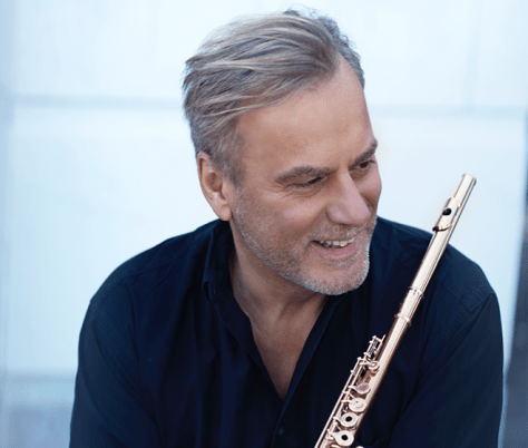 ANDREA GRIMINELLI with flute